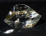 Beautiful diamante Herkimer, or Herkimer Diamond.