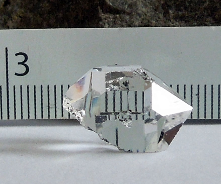 Seed crystal shown here.