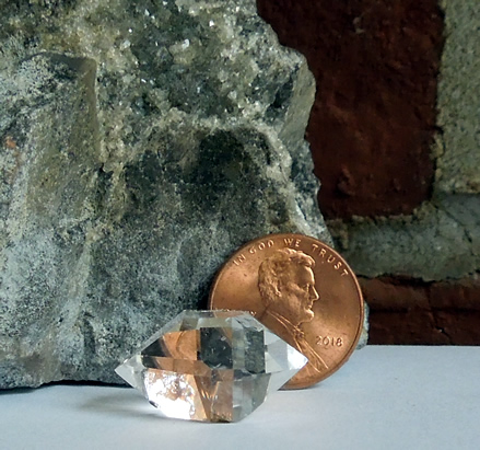 Water clear A grade Herkimer specimen