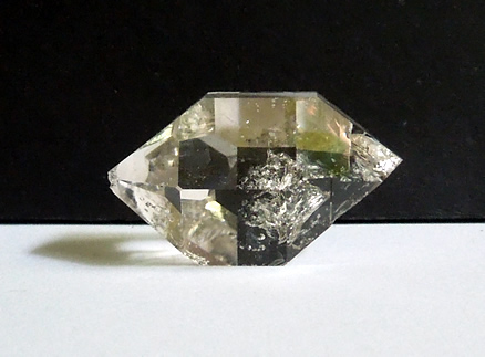 Large and clear Herkimer Diamond.