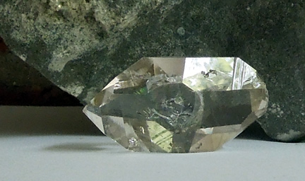 Large, quality Herkimer crystal