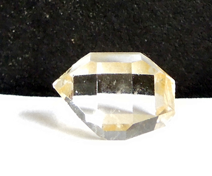 Double terminated crystal with excellent clarity.