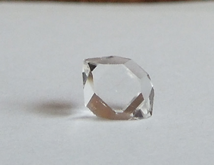 Floater crystals are perfect raw quartz crystals.