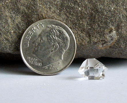 A 1.63 ct. quality Herkimer Diamond