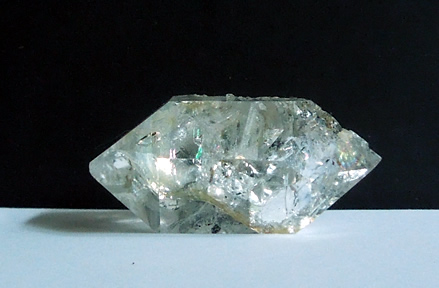 Double terminated crystal.