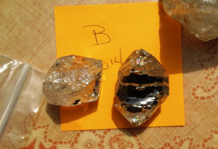 This Herkimer is pictured to the right.