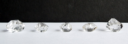 Group of smaller crystals.