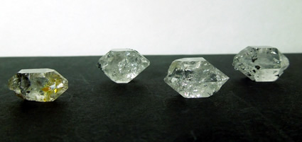 A metaphysical lot raw Herkimers for wholesale price.
