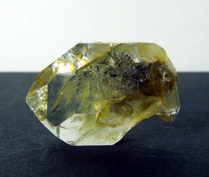 Back side of Herkimer Diamond with bridge.