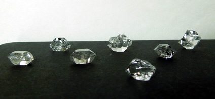 Seven 7 Herkimer Diamonds