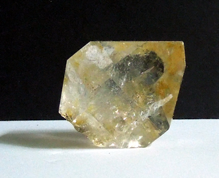 Natural Golden healer crystal point