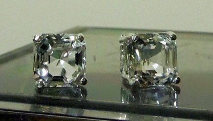 Machine Cut Herkimer Diamonds