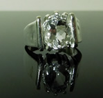 Mens solitaire Large Diamond Ring