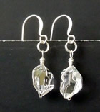Qualtiy Herkimer Diamond Crystal Earrings