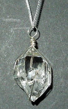 Herkimer diamond pendant quality herkimer diamond pendant with awesome clarity aloadofball Gallery