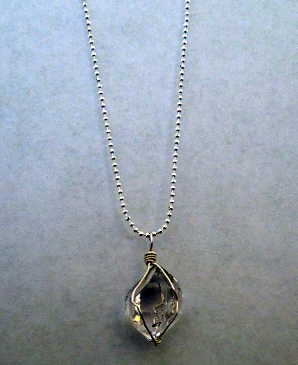 Quality Herkimer Diamond Pendant