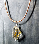 Golden Healer Crystal Pendant