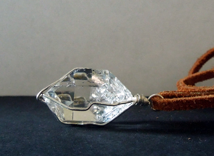 Image of large Herkimer Diamond