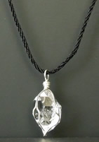 Large Herkimer Diamond Necklace