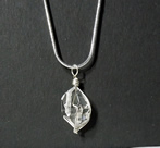 Natural Herkimer Diamond Necklace