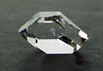 Images of a Brilliant Herkimer Diamond Crystal