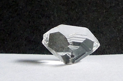 Natural double terminated crystals.