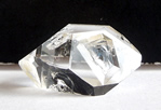 Fluid Filled Enhydro Herkimer Quartz Crystal