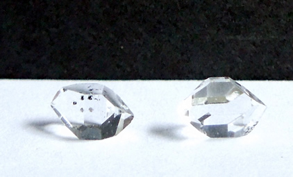 Herkimer on right measures 7.5 mm