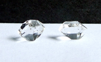 Set of diamonds weigh about 2 ct. total