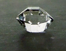 Shows the traditional shape of this Herkimer.