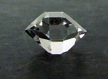 Large photograph of this AA grade Herkimer Diamond crystal.