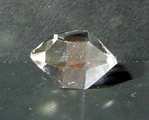 Double Terminated Raw Quartz Crystal