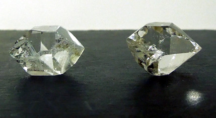 Image of Herkimer crystals.