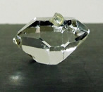 Images of a quality double terminated Herkimer Diamond crystal.
