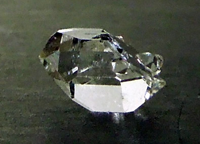 Image of unusual Herkimer Diamond