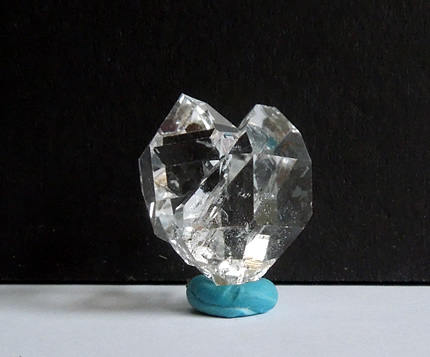 Atypical Heart Shaped Herkimer Diamond