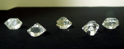 Twin crystal is pictured center.