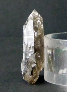 Shows how thin the crystal is.