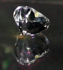 Heart cut Herkimer Diamond