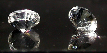 Carat weight of .53 ct. each
