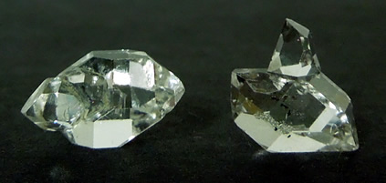 Two of three Herkimers for sale.