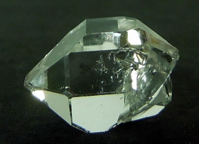 A 15.5 mm bridge crystal.