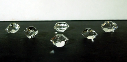 A wholesale lot of Herkimer Diamonds.