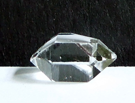 A 2.5 ct. Herkimer Diamond.