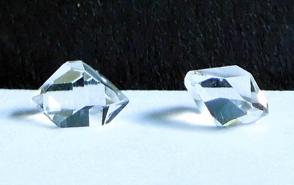 One ct. pair of matched diamonds.