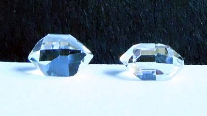 Pair of floater crystals.
