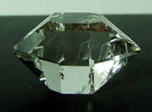 Quality double terminated quartz crystal.