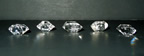 Wholesale group of Herkimer Diamonds.
