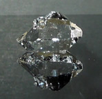 Large water clear Herkimer Diamond.
