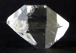 Large quality clear Herkimer Diamond crystal.